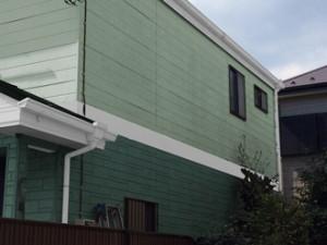 横浜市泉区 屋根塗装 外壁塗装 パーフェクトトップ ツートン ND-050 ND-218