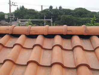 横浜市青葉区 屋根工事 乾式自在面戸W 施工後