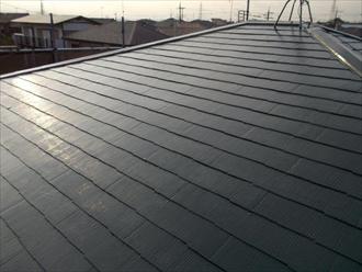 緑区、屋根塗装完成