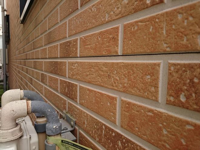 外壁はサイディング