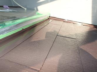 サーモアイSiによる仕上げ塗装
