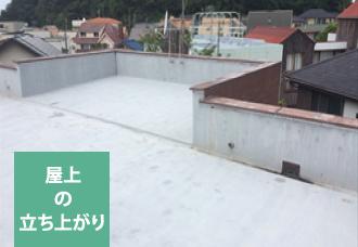 屋上の立ち上がり