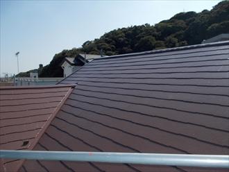 横須賀市、屋根仕上げ