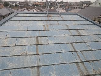 塗装してから10年の屋根