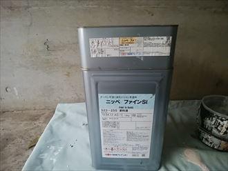 川崎市高津区|付帯部分のこげ茶色はファインSi255