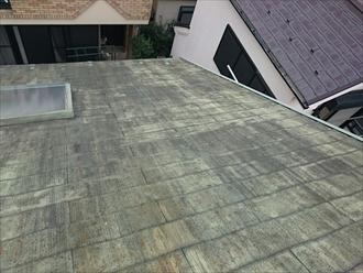 屋根についた汚れ