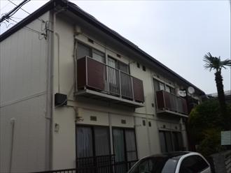 栄区-アパート屋根塗装004