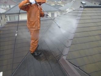 三浦郡葉山町|サーモアイで屋根塗装