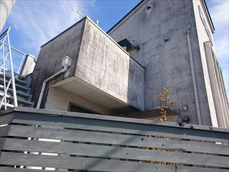 平塚市モノプラル外壁洗浄前