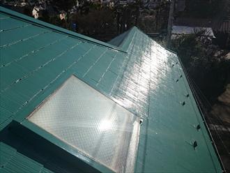 塗装で蘇った屋根