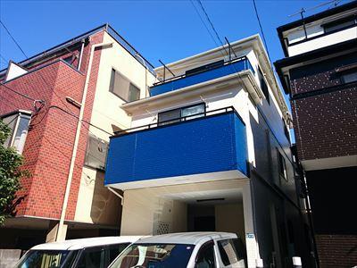 屋根外壁塗装,施工後