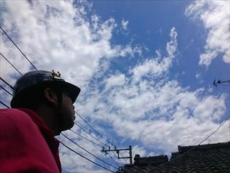 川崎市幸区で夏の暑さを和らげる遮熱塗料で屋根を塗装します