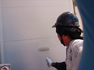横浜市港南区でALCの外壁を塗装で仕上げます