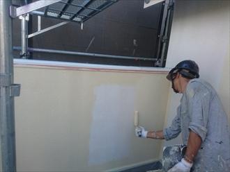 横浜市保土ケ谷区で塗装中の現場がそろそろ完成します
