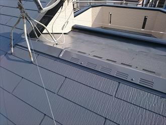 屋根の仕上がり具合