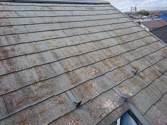定期的なメンテナンスが必要なスレート屋根|川崎市多摩区