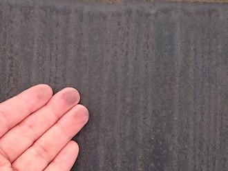 横浜市磯子区森にてお住まいの点検調査、塗装している部分にチョーキングが見られたら塗り替えの時期です