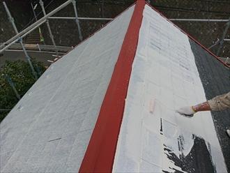 横浜市緑区の屋根塗装では下塗りに秘密がある遮熱塗料サーモアイシリーズを使います