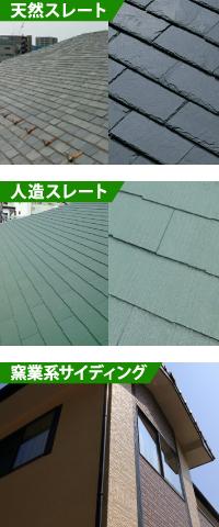 スレート屋根の特徴と成分