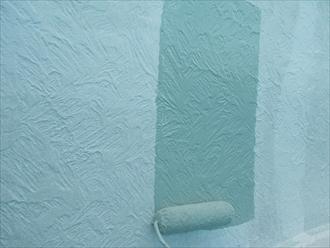 横須賀市、ナノコン中塗り