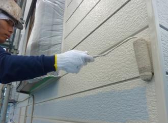 金属系サイディング外壁の塗り替え