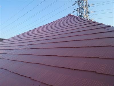 横浜市保土ケ谷区で屋根塗装と外壁塗装を施工しました、施工後写真