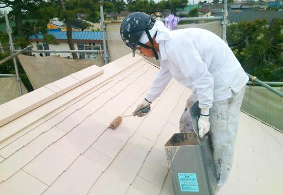 屋根塗装のメンテナンス