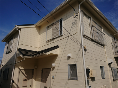 秦野市尾尻で屋根カバー・外壁塗装