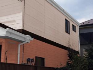 横浜市泉区 屋根塗装 外壁塗装 パーフェクトトップ ツートン ND-491 ND-490