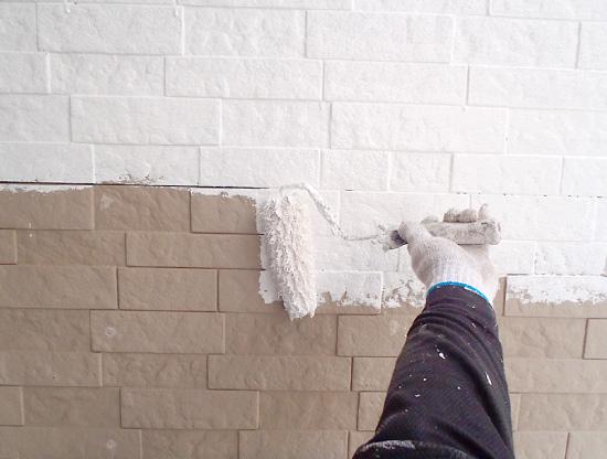外壁塗装~下塗り~