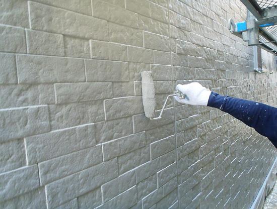 外壁塗装~上塗り~
