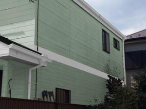 横浜市泉区 屋根塗装 外壁塗装 パーフェクトトップ ND-322 ND-375
