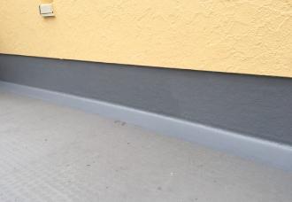 バルコニー防水層再塗装完了
