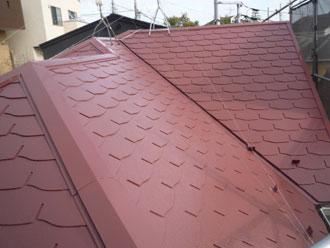 屋根塗装 サーモアイSi クールブラウン