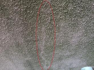 横浜市鶴見区の外壁調査、外壁にある亀裂はメンテナンスの時期に差し掛かっている目安です2