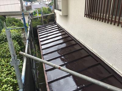 トタン屋根塗装,完了