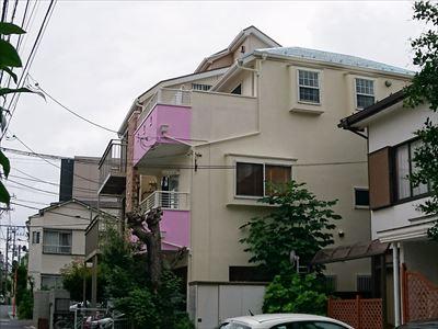 横浜市保土ケ谷区|超高耐久サーモアイ4Fとエラストコートの屋根外壁塗装、施工後写真