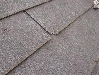 横浜市青葉区大庭町で塗装工事を検討中の屋根はグリシェイドネオでした