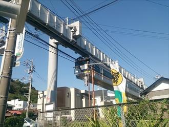 神奈川県鎌倉市でステンレスで加工した屋根の塗装工事