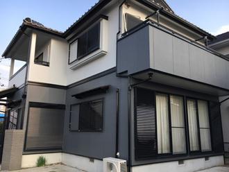 クールな印象の住宅