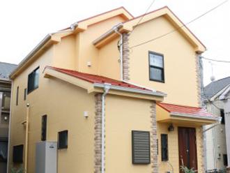 パーフェクトトップND281で塗装した住宅