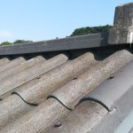 屋根が錆びている