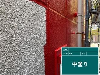 横浜市旭区白根でALCの外壁をパーフェクトトップで外壁塗装します