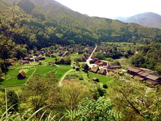 田舎の景観