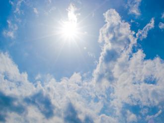 夏の暑い日差し