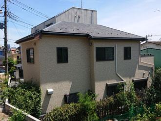 座間市東原で築10年のお家を屋根は遮熱塗料で外壁はラジカル制御塗料でメンテナンス、施工前写真