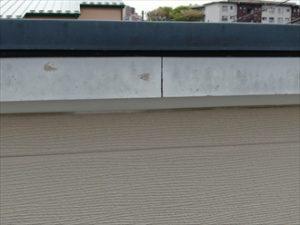 破風板にも塗装のメンテナンス