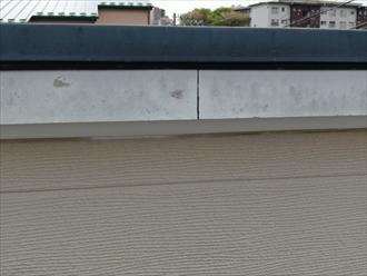 横浜市緑区霧が丘で外壁塗装の点検、破風板や幕板の傷みも塗装でメンテナンス