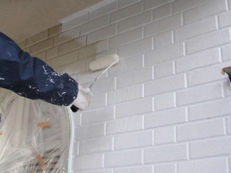 川崎市宮前区|塗膜の剥がれた外壁を塗装で蘇らせる
