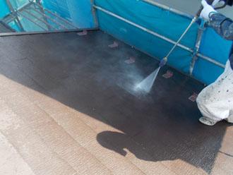 川崎市 屋根塗装 高圧洗浄